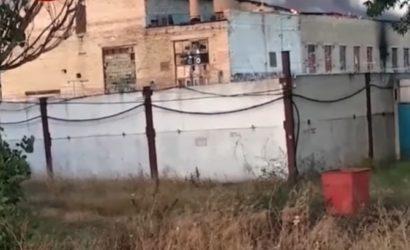 Под Киевом произошел пожар в исправительной колонии