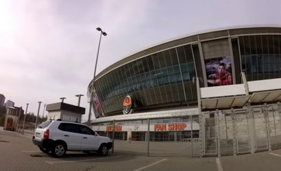 Информационные стенды выгорели: Как сегодня выглядит «Донбасс Арена» (Фото)