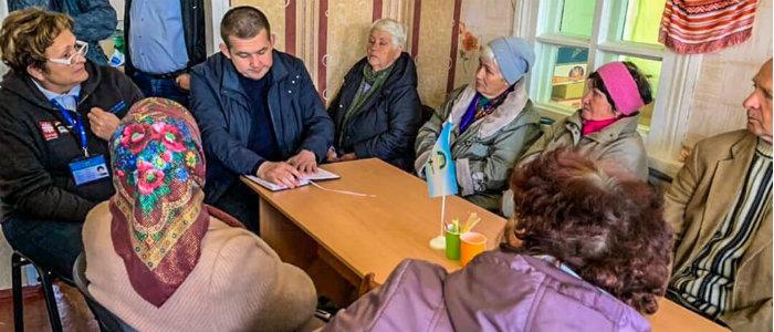 Жители «красной зоны» на Луганщине рассказали о своих проблемах представителю омбудсмена
