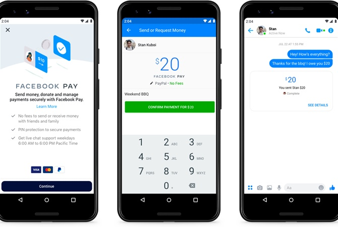 У Цукерберга создали систему платежей для Instagram, WhatsApp и Facebook