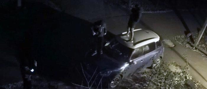 Делали селфи: На Донетчине трое подростков повредили автомобиль