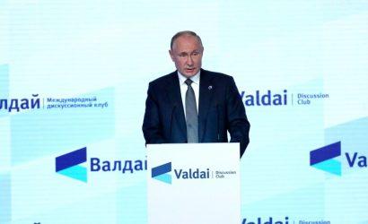 Путин — об Украине: глава Пентагона открыл двери в НАТО, а у власти — агрессивное националистическое меньшинство