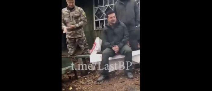 Зеленский неожиданно приехал к добровольцам в Золотое (Фото, видео)