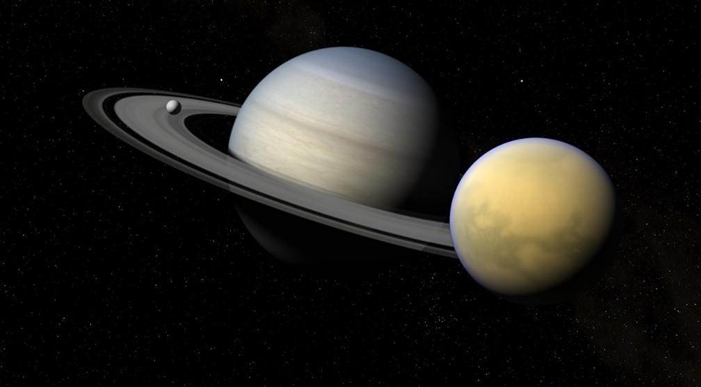 У Сатурна открыли 20 новых спутников