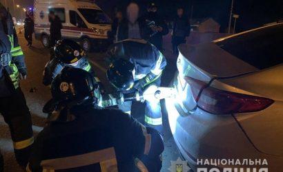 СМИ: под Одесской машина патрульных не пропустила полицейское авто, погиб старший лейтенант