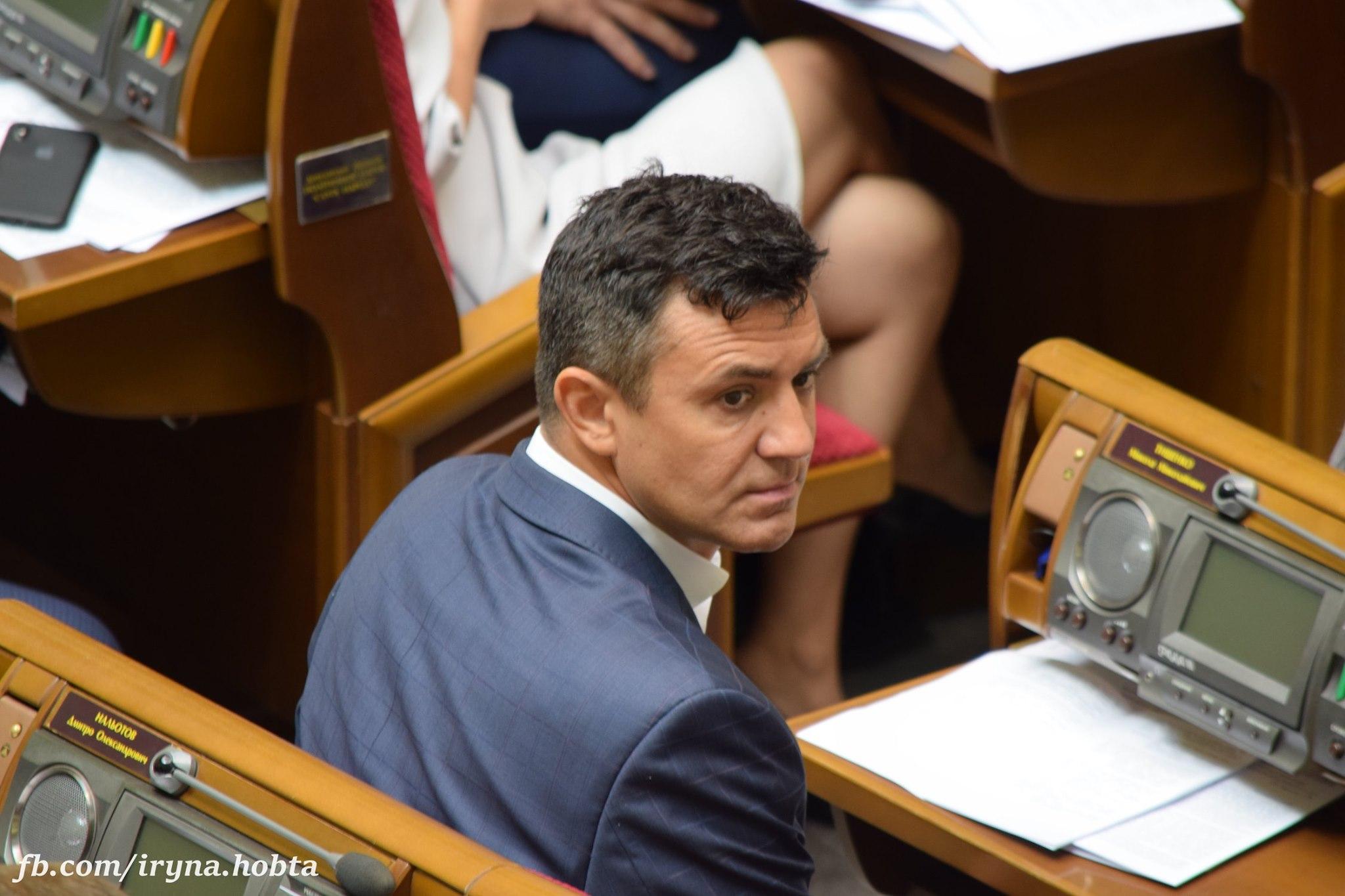 Нардеп Тищенко будет собирать подписи за снятие неприкосновенности с Федины