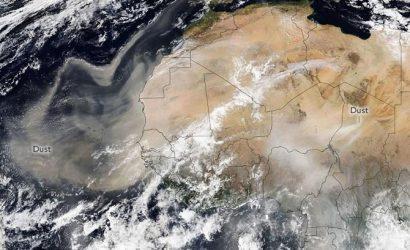 Пыль из Сахары зацепила Украину