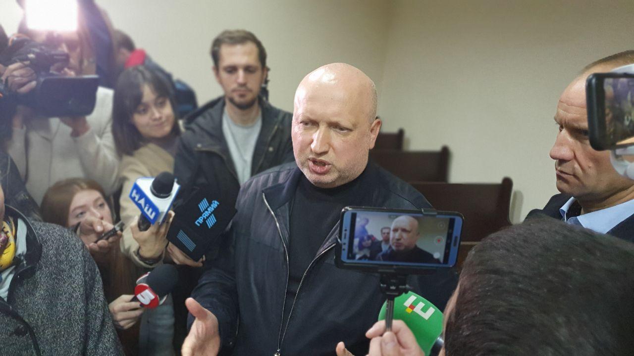 Турчинов прокомментировал арест Пашинского