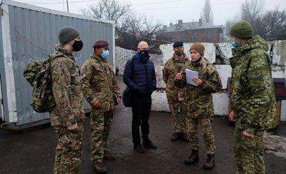 На Донбассе побывали британские военнослужащие