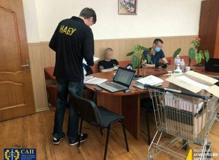 НАБУ обыскивает больницы «Укрзализныци» по делу о закупке услуг ПЦР-тестирования