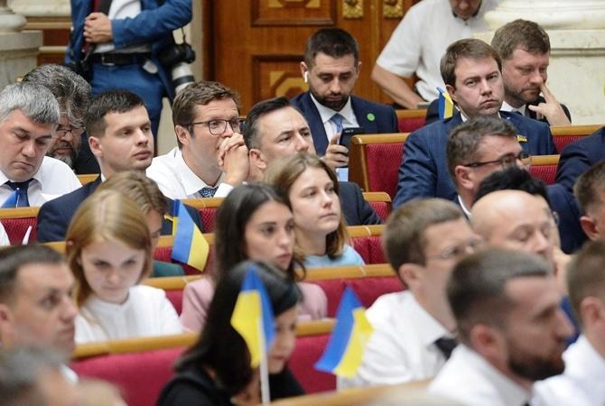 Кабмин Гончарука впервые ответит на вопросы депутатов спустя два месяца работы
