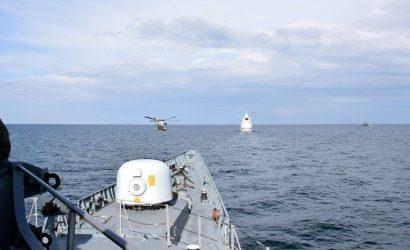 В Черном море стартовали военные учения НАТО