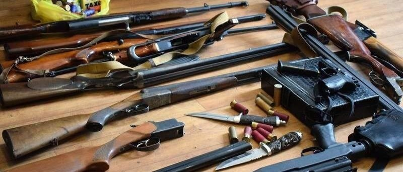 Жители Донетчины принесли в полицию 13 гранат
