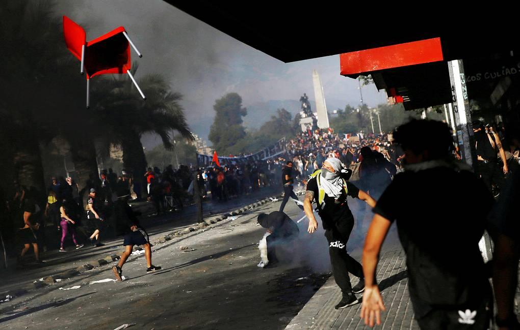 США увидели «российский след» в чилийских беспорядках