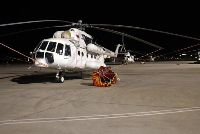 В Турцию прибыли четыре украинских вертолета для борьбы с лесными пожарами