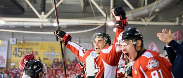 ХК «Донбасс» – победитель второго раунда Континентального кубка (Фото)