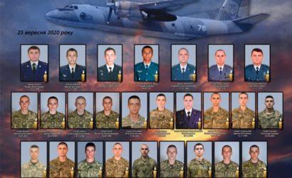 Официальный список погибших в авиакатастрофе АН-26Ш