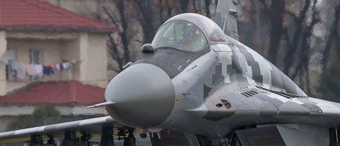Украинские ВВС получили модернизированный истребитель МиГ-29