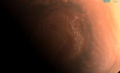Китайский зонд Tianwen-1 прислал детальные снимки поверхности Марса