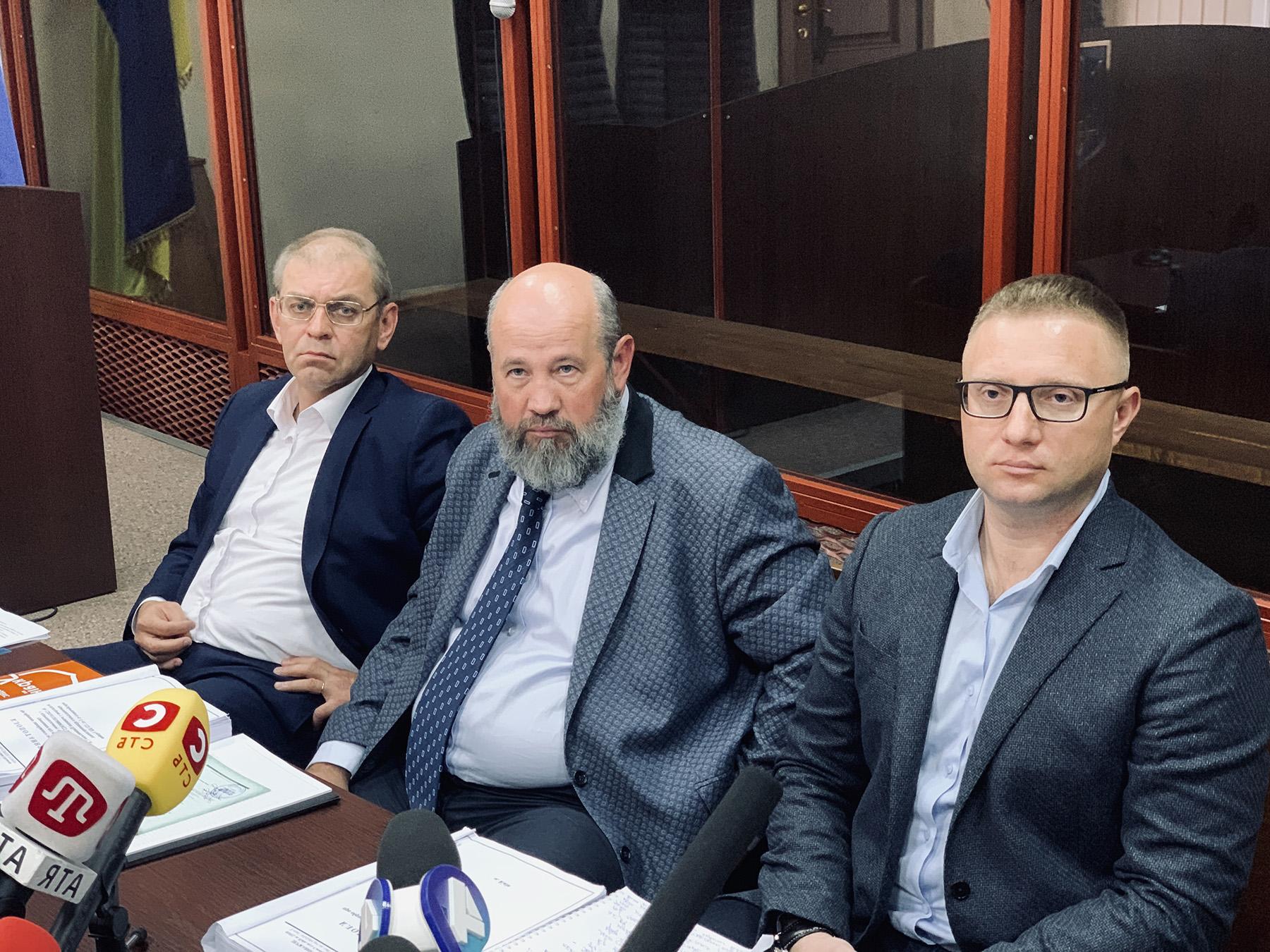 Суд избирает меру пресечения Пашинскому