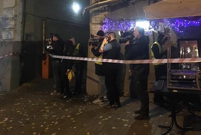 В полиции назвали основную версию взрыва в Киеве