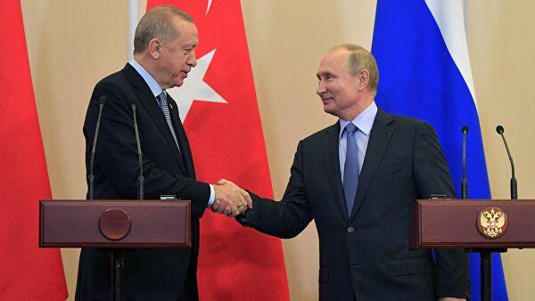 Россия и Турция подписали меморандум по Сирии