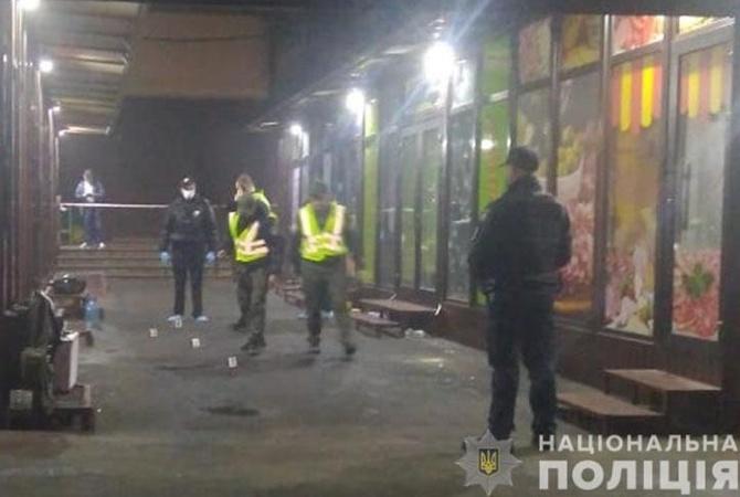 Появилось видео момента взрыва на рынке Троещины