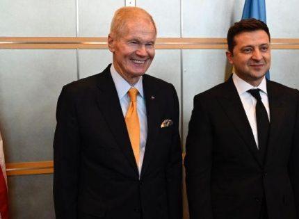 Зеленский обсудил с директором НАСА совместные проекты в космосе