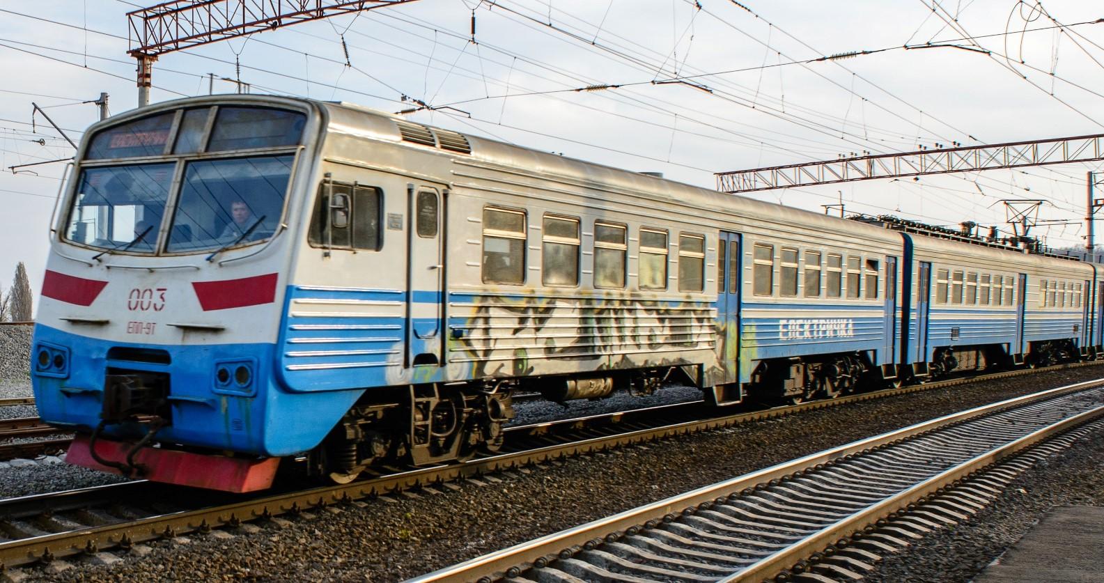 Укрзализныця и Киевпастранс поссорились из-за городской электрички