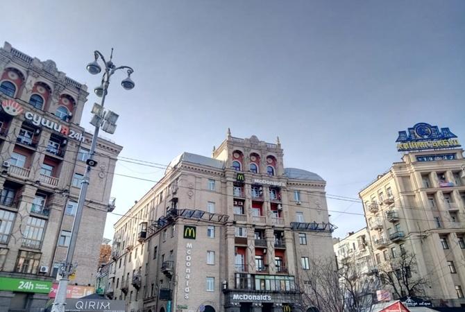 Скандальный «скворечник» на Майдане опять строят?