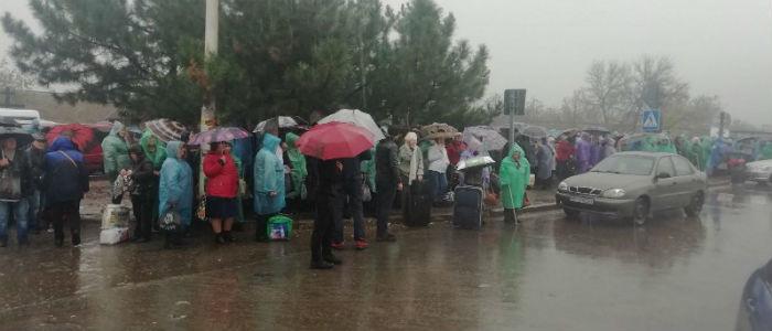 Пропуск через КПВВ «Станица Луганская» возобновили, – Госпогранслужба