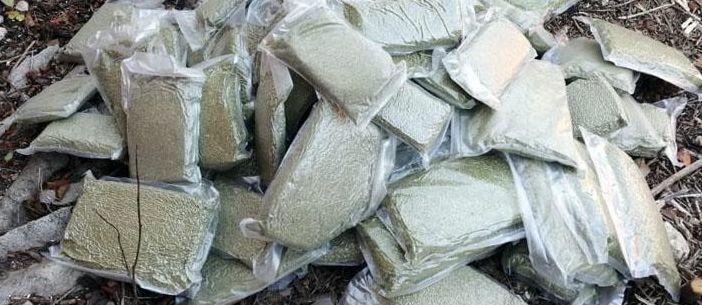 На Донетчине полицейские изъяли более 20 кг марихуаны стоимостью более миллиона гривен (Фото)