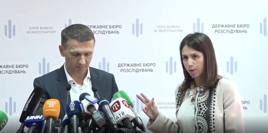Черновол устроила скандал на брифинге главы ГБР