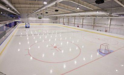 Зеленскому в Краматорске показали ледовую арену (Фото)