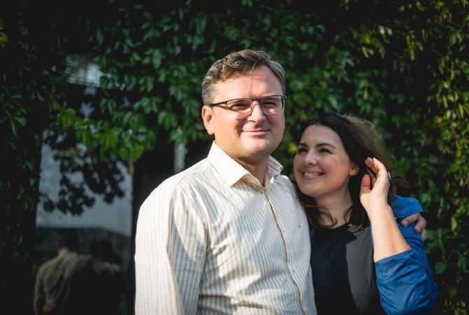 Жена Дмитрия Кулебы – о своем муже: Украине с ним повезло!