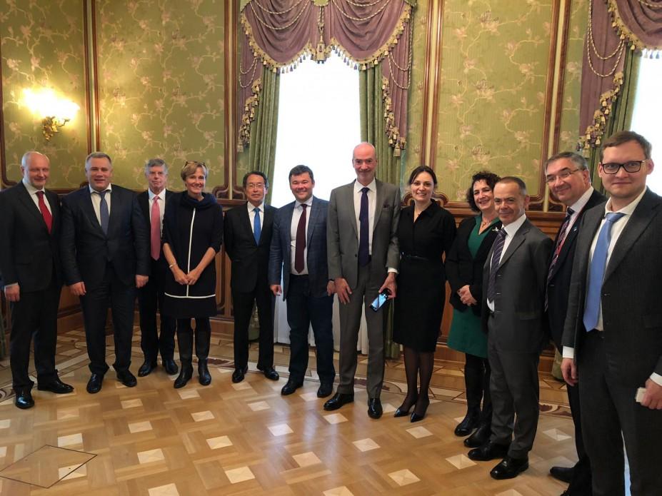 Богдан встретился с послами стран G7
