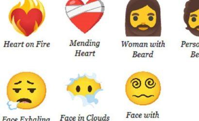В 2021 году появятся 217 новых смайликов: бородатые женщины и не только