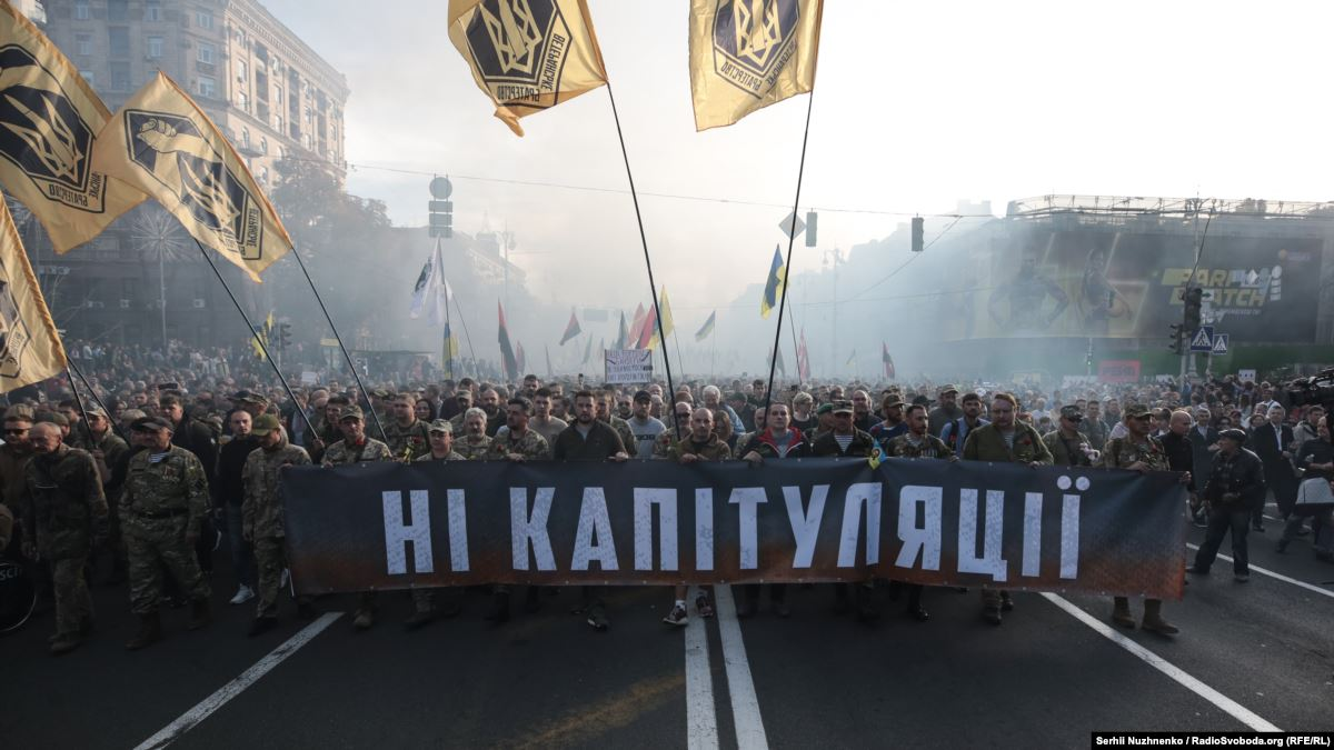 Баканов: СБУ не имеет подтверждения, что акции против «капитуляции» – проплаченные