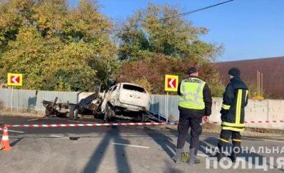 Подробности ДТП на Закарпатье: заживо сгорели полицейские, пограничник и две девушки